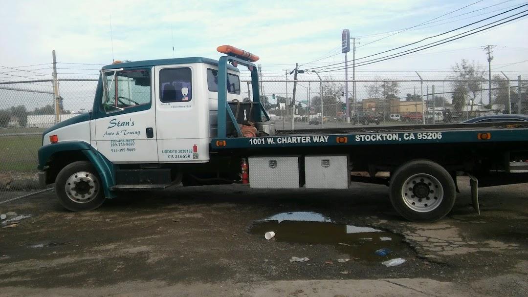 Tow Truck Stockton Ca >> Stan S Auto Towing Towing Service In Stockton