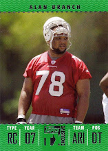 Photo: Alan Branch 2007 Topps TX Exclusive RC (#0104/1049)