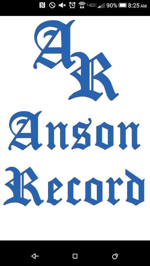 The Anson Record- screenshot