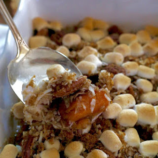 Sweet Potato With Coconut And Pecans Recipes