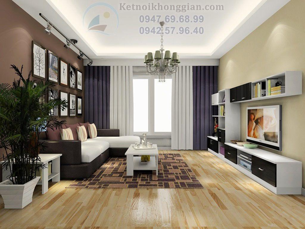 thiết kế chung cư 62m2