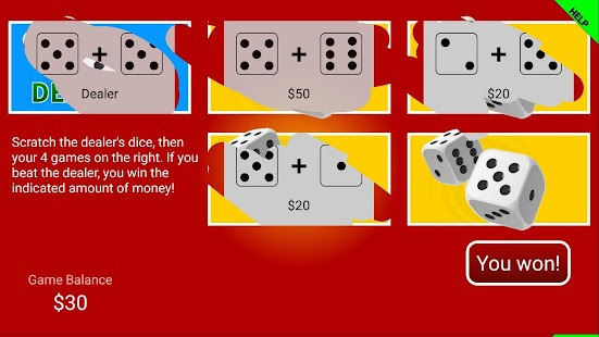 Scratch cards!- screenshot thumbnail