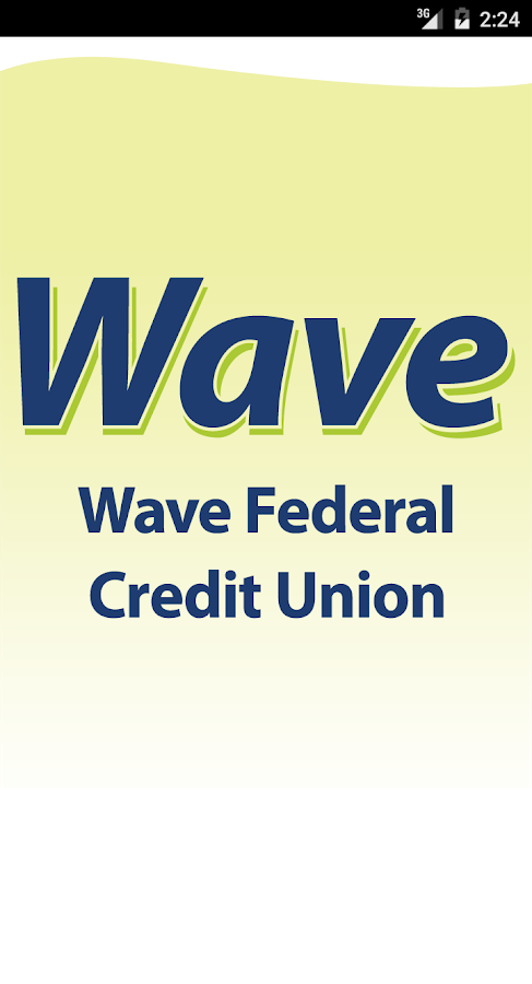 Wave Federal Credit Union- screenshot