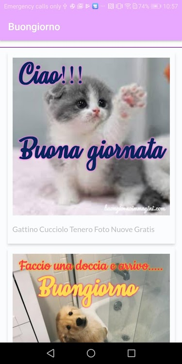 Immagini E Frasi Del Buongiorno Senza Pubblicità Android