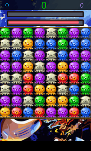 Octopus Match Puzzle