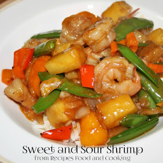 Sweet and Sour Shrimp.