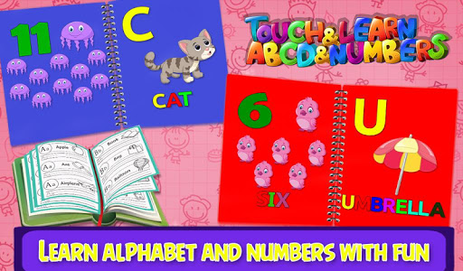 Touch & Learn ABCD & Numbers v1.0.0