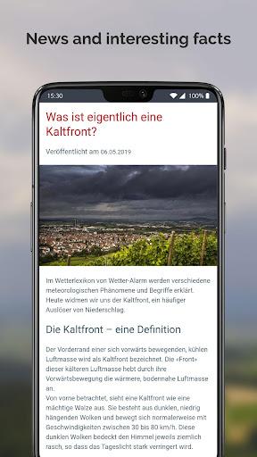 Weather Alarm: Forecast & alerts for Switzerland 5.18.2.9 screenshots 7