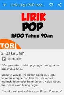 Lagu POP Indonesia Tahun 90an - náhled