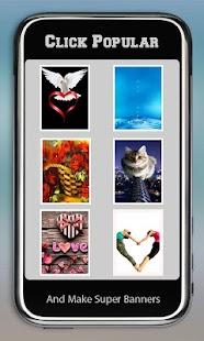Super banner Effects screenshot
