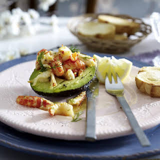 Crawfish and Avocado Salad.