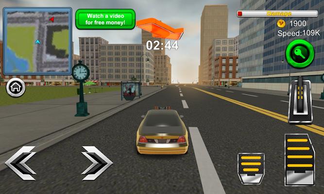 New York Taxi Driver 3D - screenshot