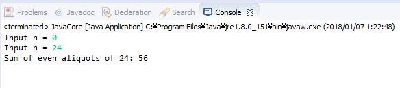 Java - Tính tổng các ước số chẵn của số nguyên dương n