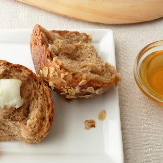 Whole Wheat Honey Oatmeal Rolls