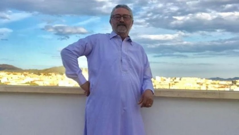 Imagen con la que el alcalde de Albox ha felicitado el ramandán.