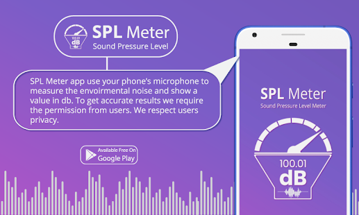 App SPL Meter, Sound Meter, Noise Detector,Sound Level APK for Windows Phone