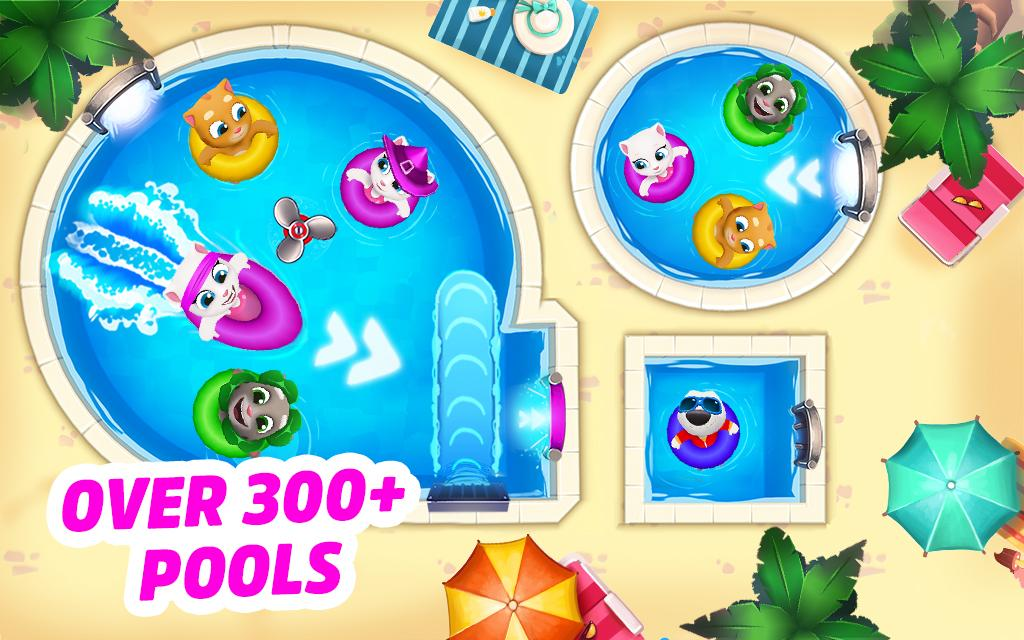 Talking Tom Pool- screenshot