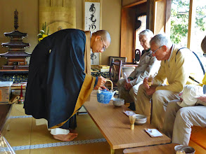 Photo: Most authentic tea ceremony (Senko-ji Zen Buddhist Temple)