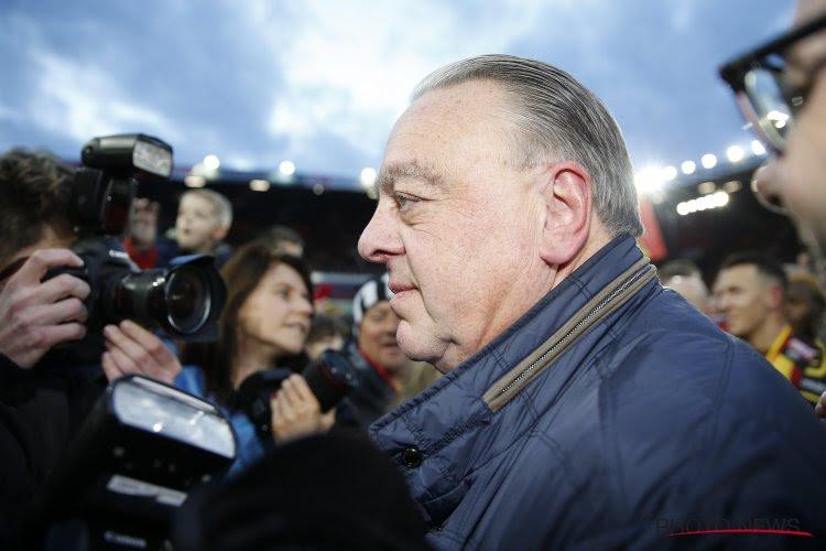 """L'ancien président de Malines est serein après le titre : """"La saison prochaine, nous jouerons en D1A"""""""