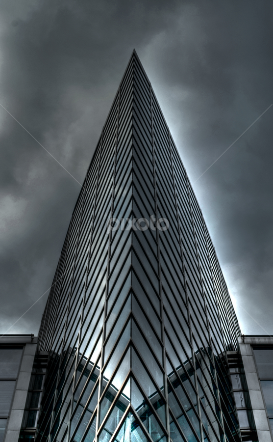 world center by Michelle Meenawong - Buildings & Architecture Architectural Detail ( reflection, building, glass, front, architecture )