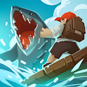 Epic Raft: Fighting Zombie Shark Survival Games icon
