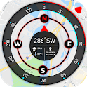 Super GPS Compass Map for Android 2019 icon