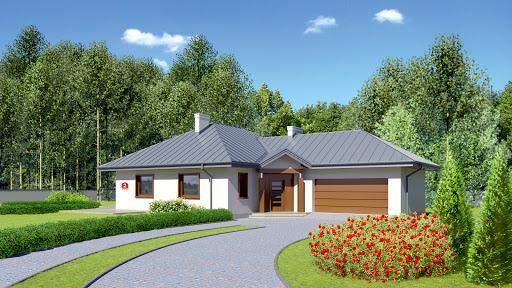 projekt Dom przy Jaśminowej 2
