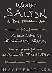 Blackberry Farm Winter Saison (2015)