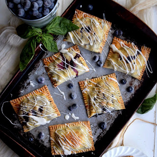 Blueberry Basil Hand Pies.