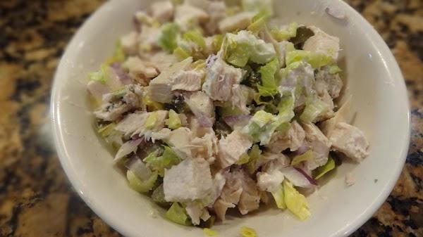 Poor Man's Crab,  Chicken Salad -- Bonnie's Recipe