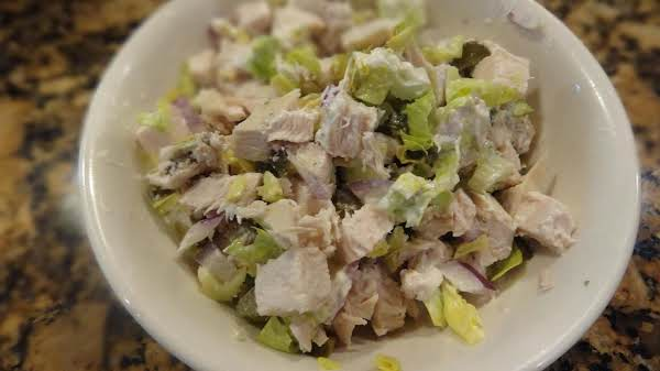 Poor Man's Crab,  Chicken Salad -- Bonnie's Recipe