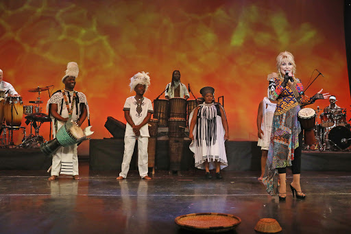 SA drumming sensation Drumstruck shares stage with Dolly Parton