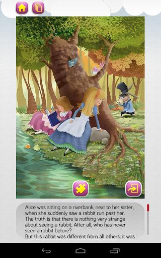 how would describe alice in wonderland