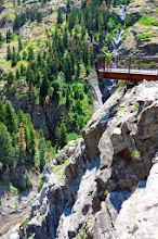 Photo: Climax Creek Waterfall overlook platform