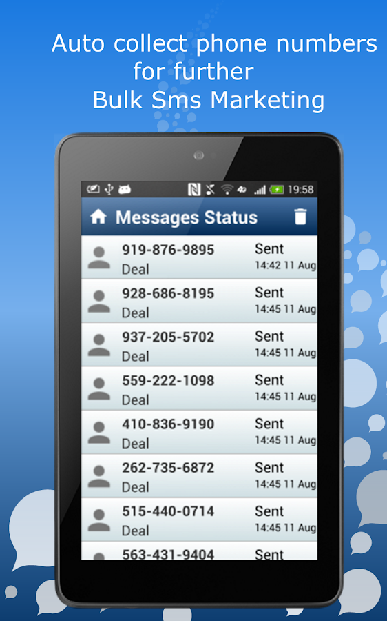 Business Marketing AutoResponder -  Bulk SMS & MMS- screenshot