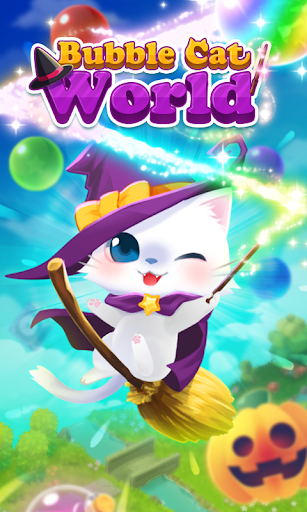Bubble Cat Worlds Cute Pop Shooter 1.0.15 screenshots 1