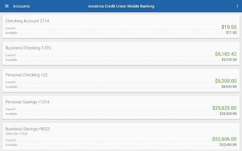 Accentra Credit Union Mobile screenshot 5