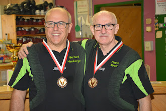 Photo: Doppel Herren LL – 3. Platz: BC Ansfelden1