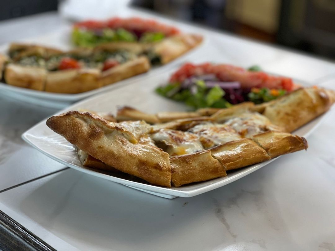 Turkish pide from Bosphorus Cafe & Grill