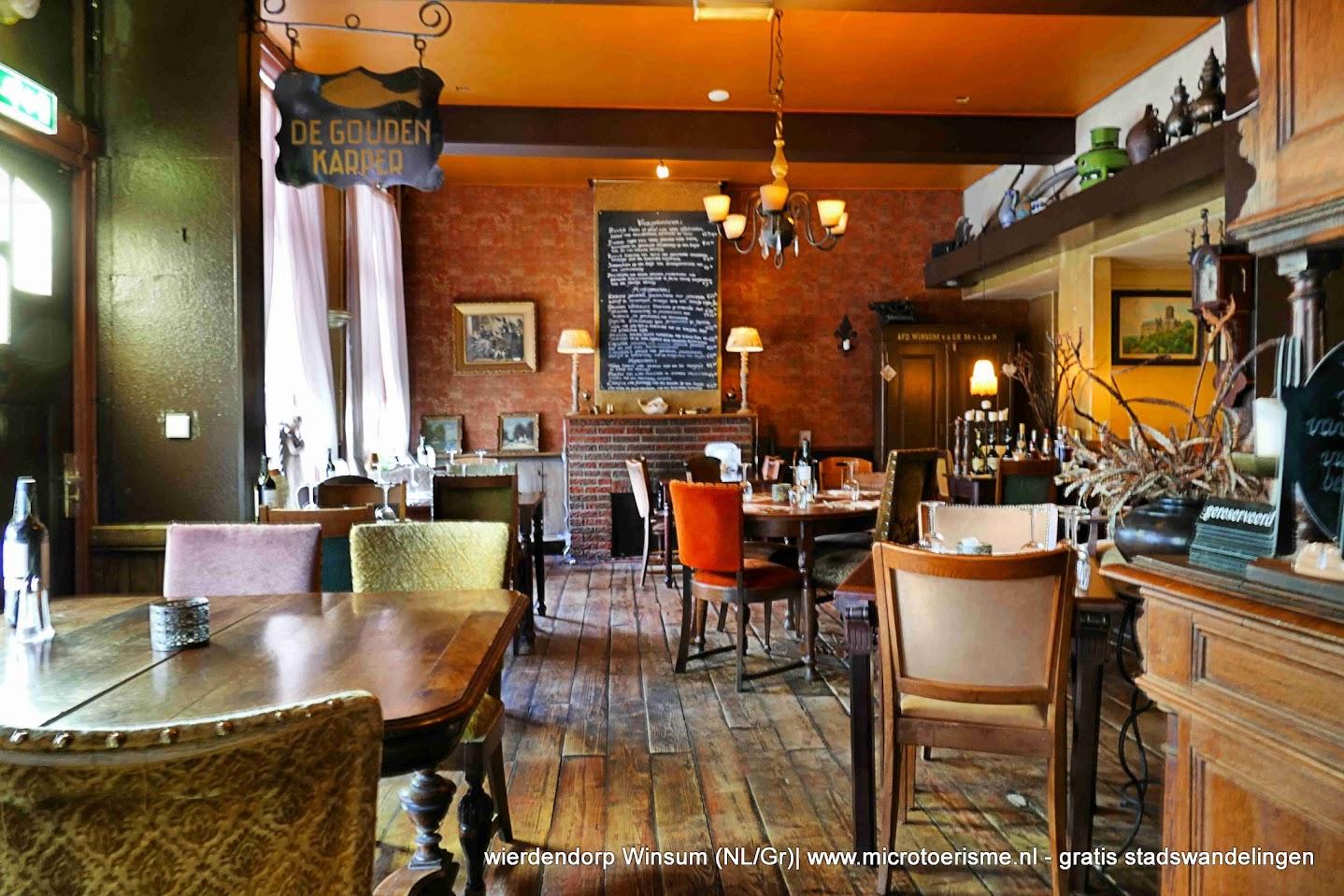 Aangeboden door: Stichting Microtoerisme InZicht Fotoblog Winsum Gouden Gulden Karper café restaurant herberg oud 500