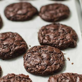 Chocolate Fudge Cookies.