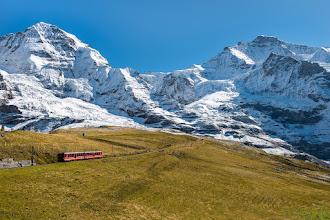 Photo: Mönch und Jungfrau, Switzerland