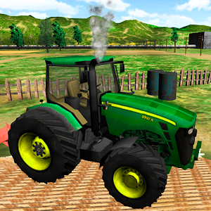 Green Farm Tractor Simulator for PC and MAC