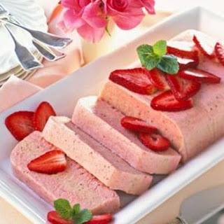 Frozen Strawberry Zabaglione.