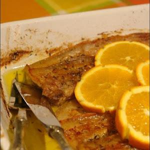Pork Belly with Tangerine