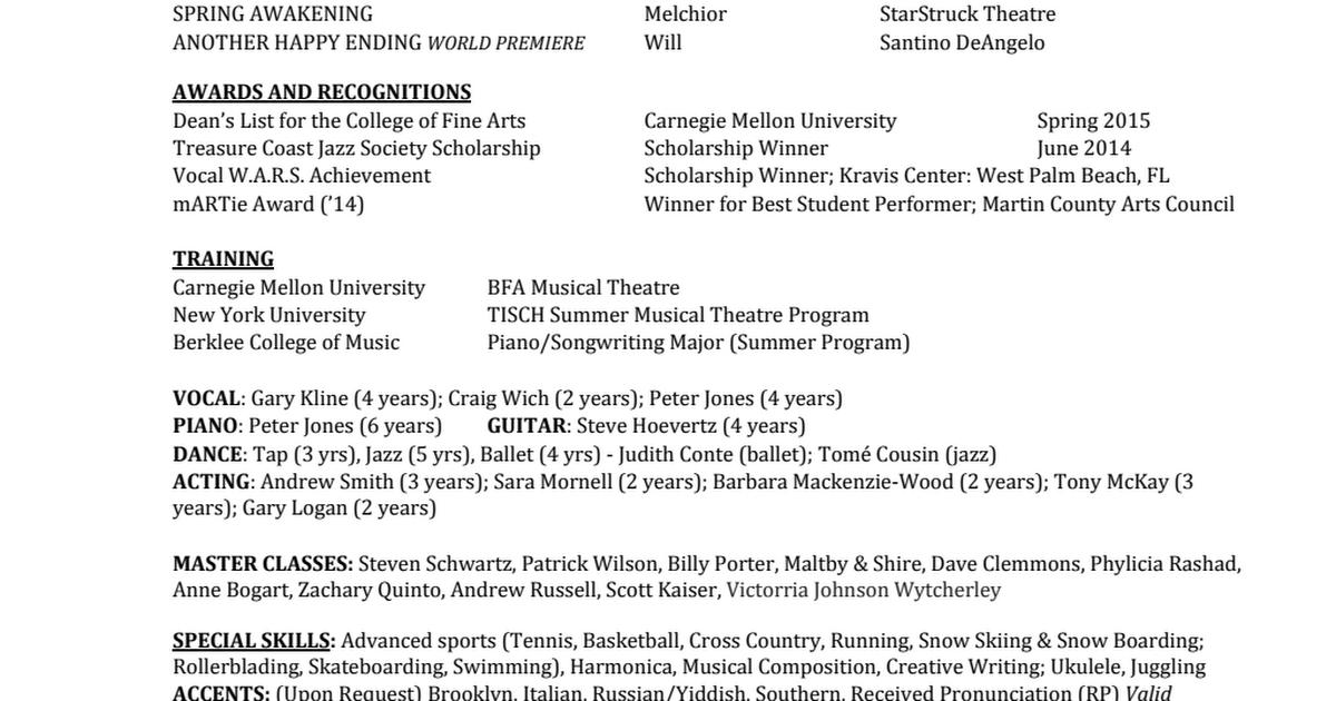 Kevin Paul Resume Theatre docx (3) pdf - Google Drive