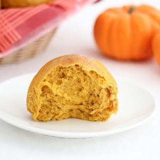 Soft Pumpkin Rolls