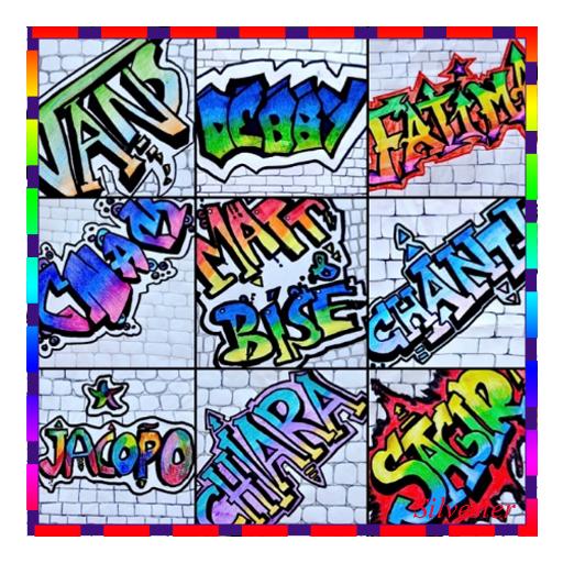 paling keren gambar tulisan grafiti nama nia  amanda t ayala