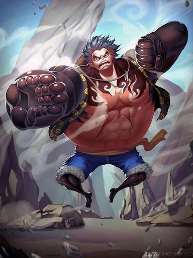 This gear was first seen against doflamingo. Mengunduh Luffy Gear 4 Wallpapers Hd Google Play Apps Al5c8znqdrld Mobile9