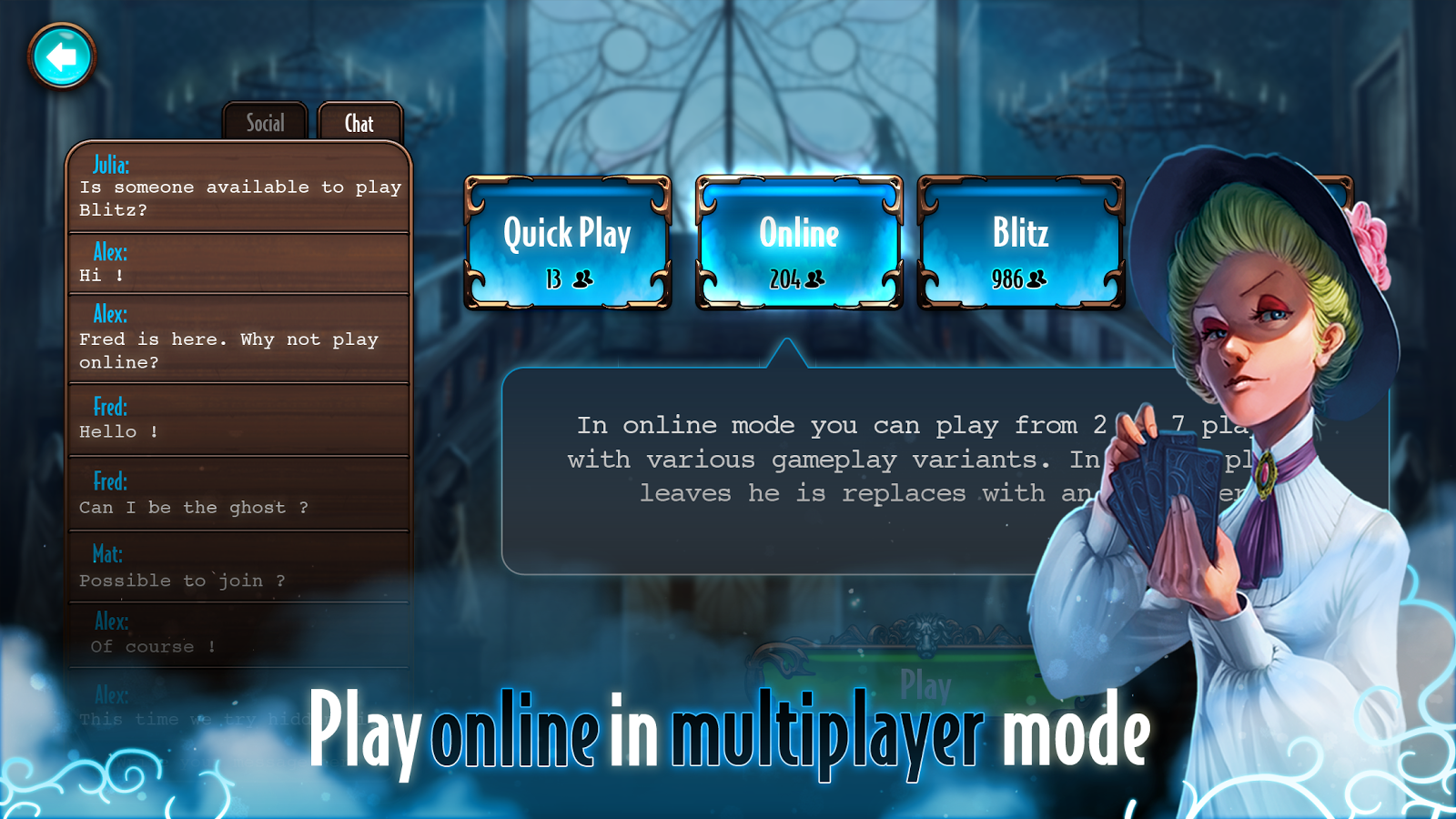 Mysterium: The Board Game- screenshot